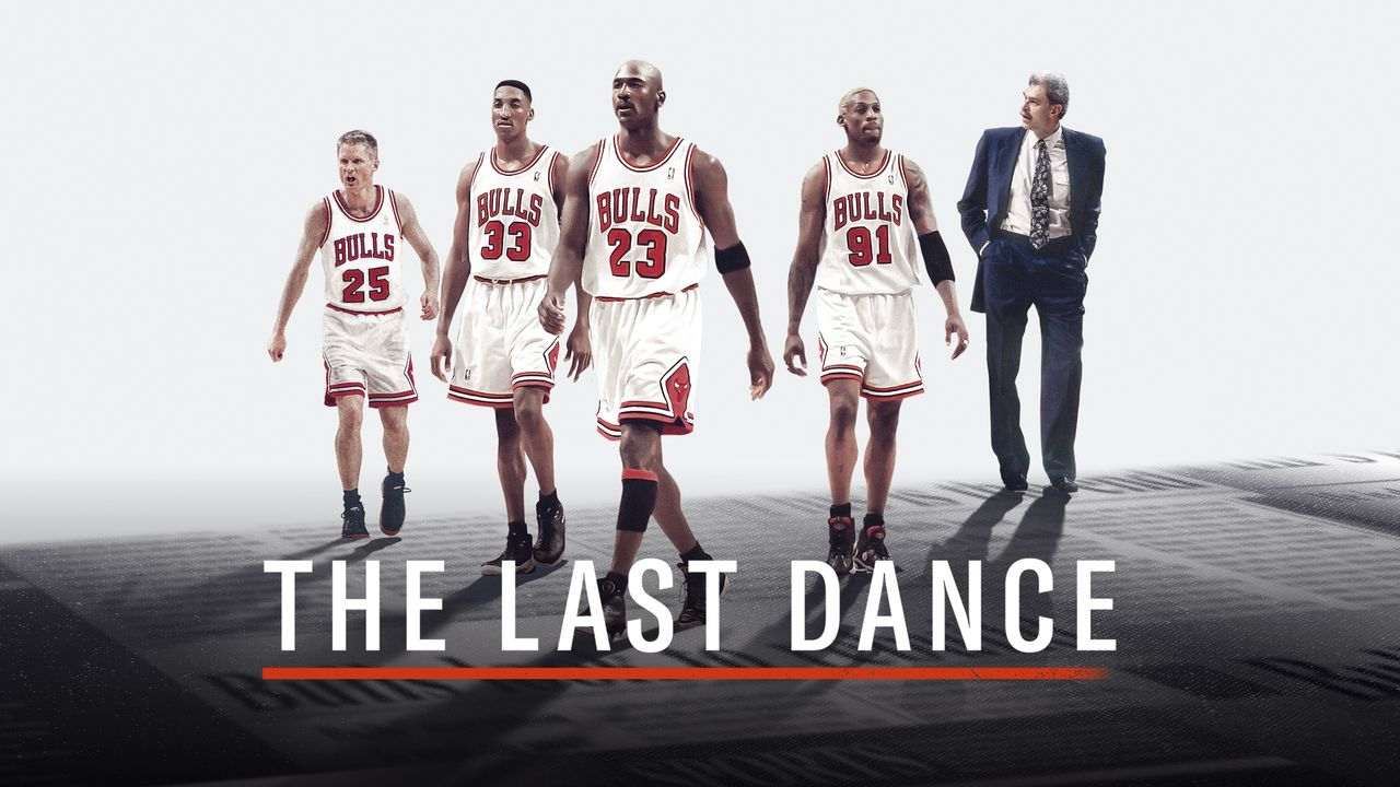 the last dance netflix michael jordan gamke design